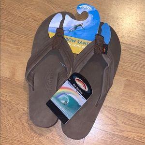 NWT Rainbow 302 Premier Leather Sandals